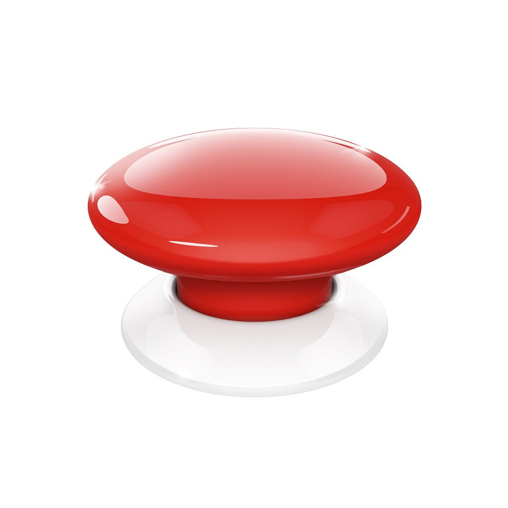 Fibaro Button Z-Wave Plus Scene Controller FGPB-101-3 Red