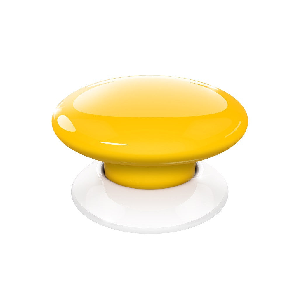 Fibaro Button Z-Wave Plus Scene Controller FGPB-101-4 Yellow