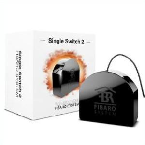 Fibaro Z-Wave Plus Single Switch 2 FGS-213 ZW5 US Thumbnail