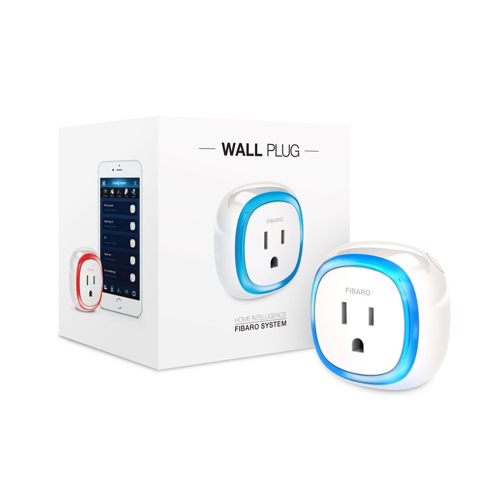 Fibaro Z-Wave Plus Wall Plug FGWPB-111 ZW5 (No USB Port) Packaging View