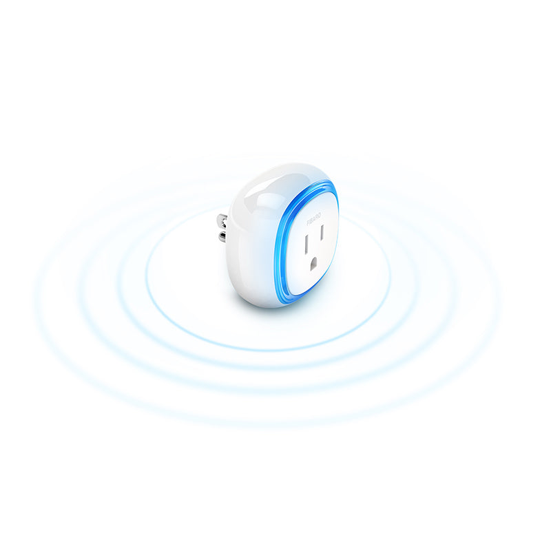 Fibaro Z-Wave Plus Wall Plug FGWPB-111 ZW5 (No USB Port) Encrypted and Quick Wireless Signal