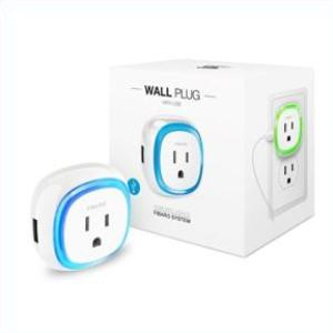 Fibaro Z-Wave Plus Wall Plug with USB Charging Port FGWPB-121 Thumbnail