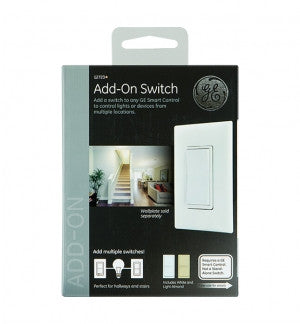 GE 12723 Z-Wave In-Wall Add-On Switch Front Box