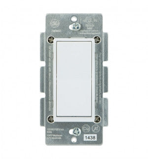 GE 12723 Z-Wave In-Wall Add-On Switch Front