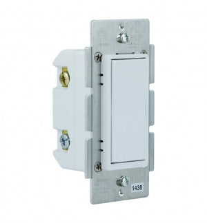 GE 12723 Z-Wave In-Wall Add-On Switch Left