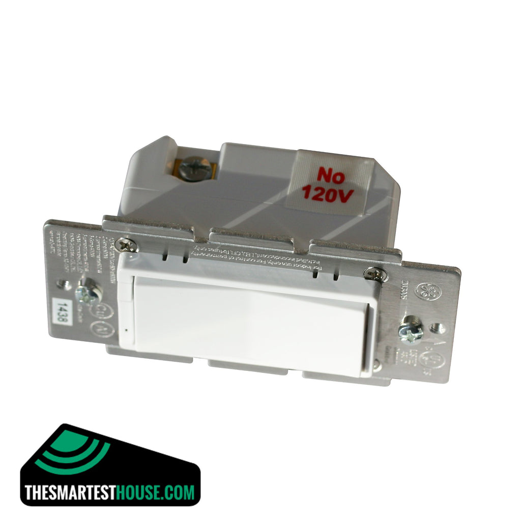 GE 12724 Z-Wave In-Wall Smart Dimmer front product image