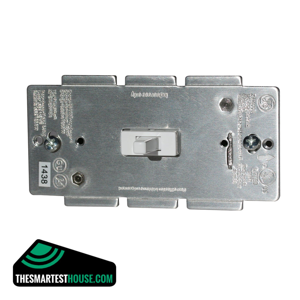GE 12727 Z-Wave In-Wall Smart Toggle On-Off Switch front image large