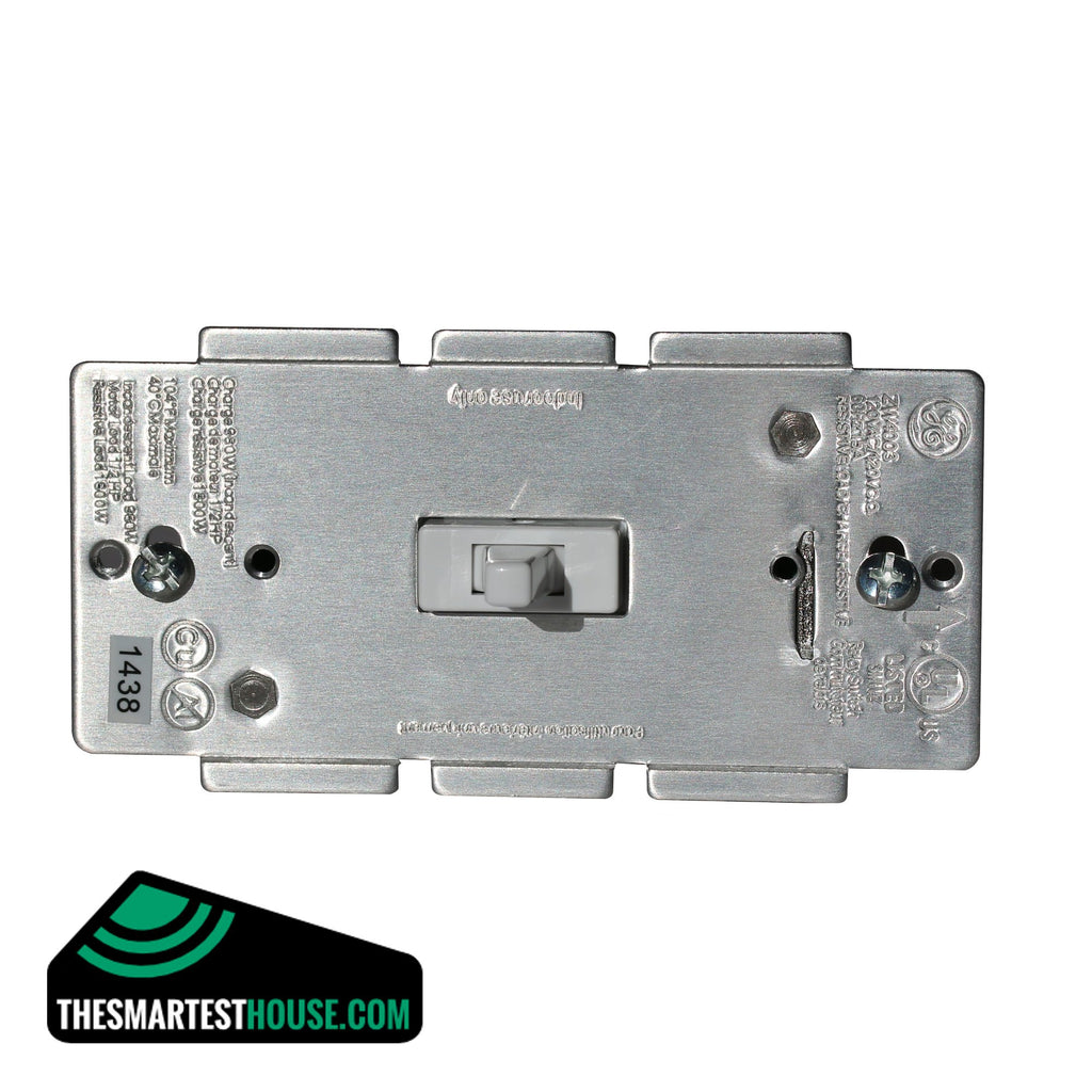 GE 12727 Z-Wave In-Wall Smart Toggle On-Off Switch front