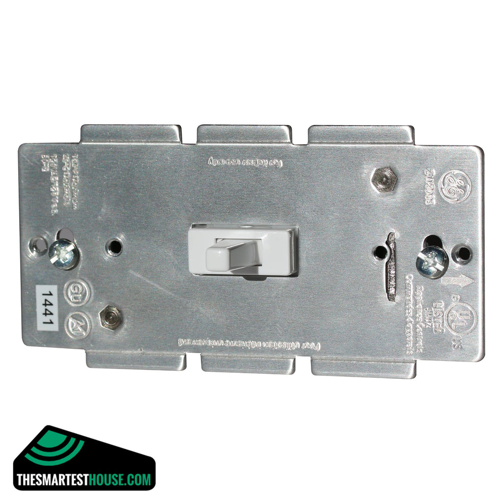 GE 12728 Z-Wave Add-On Switch front side