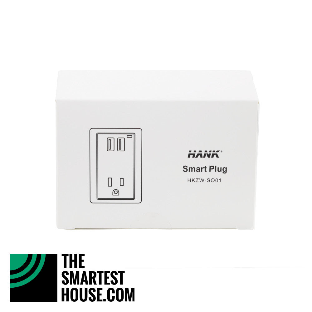 Hank Z-Wave Plus Smart Plug HKZW-SO01 packaging front