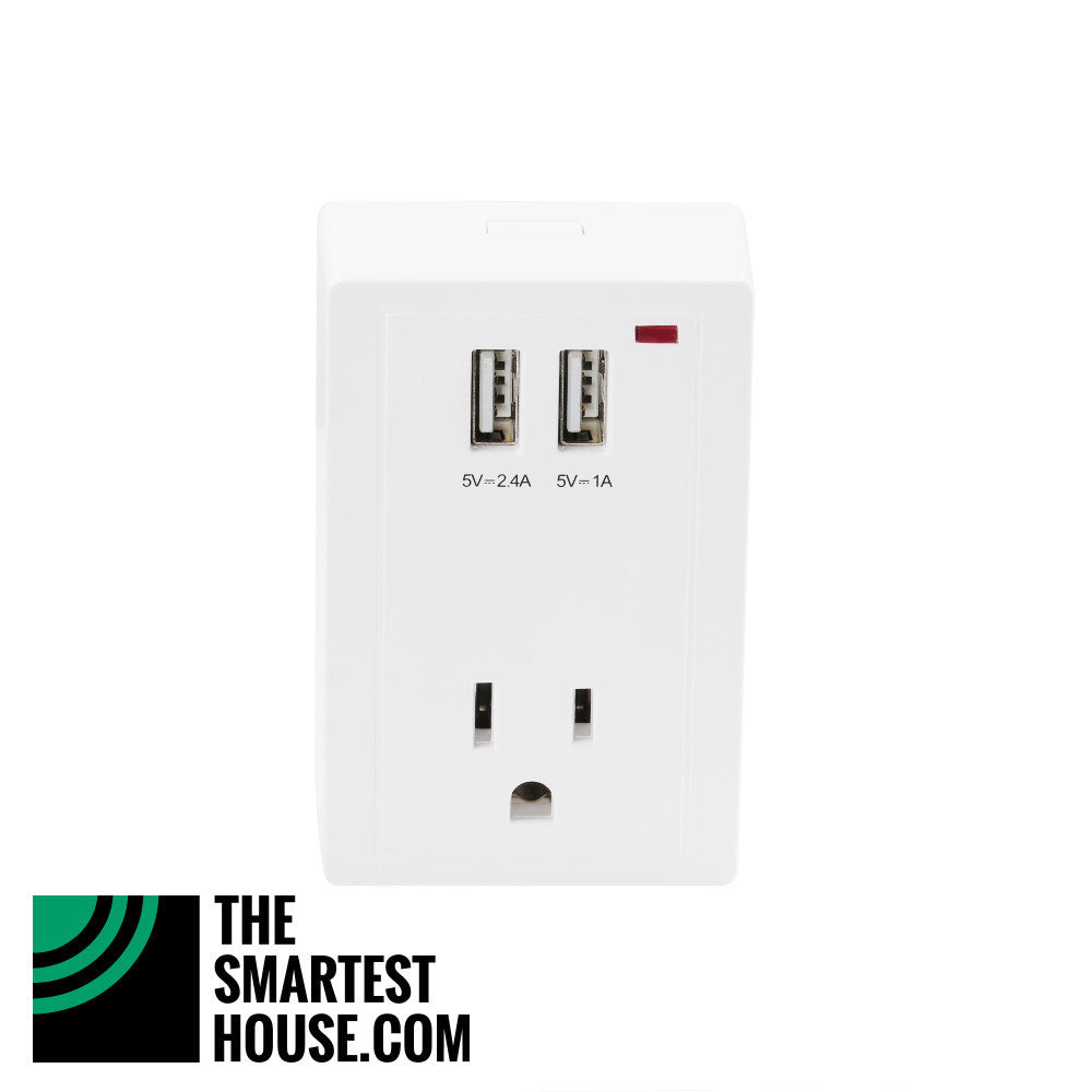 Hank Z-Wave Plus Smart Plug HKZW-SO01 front view