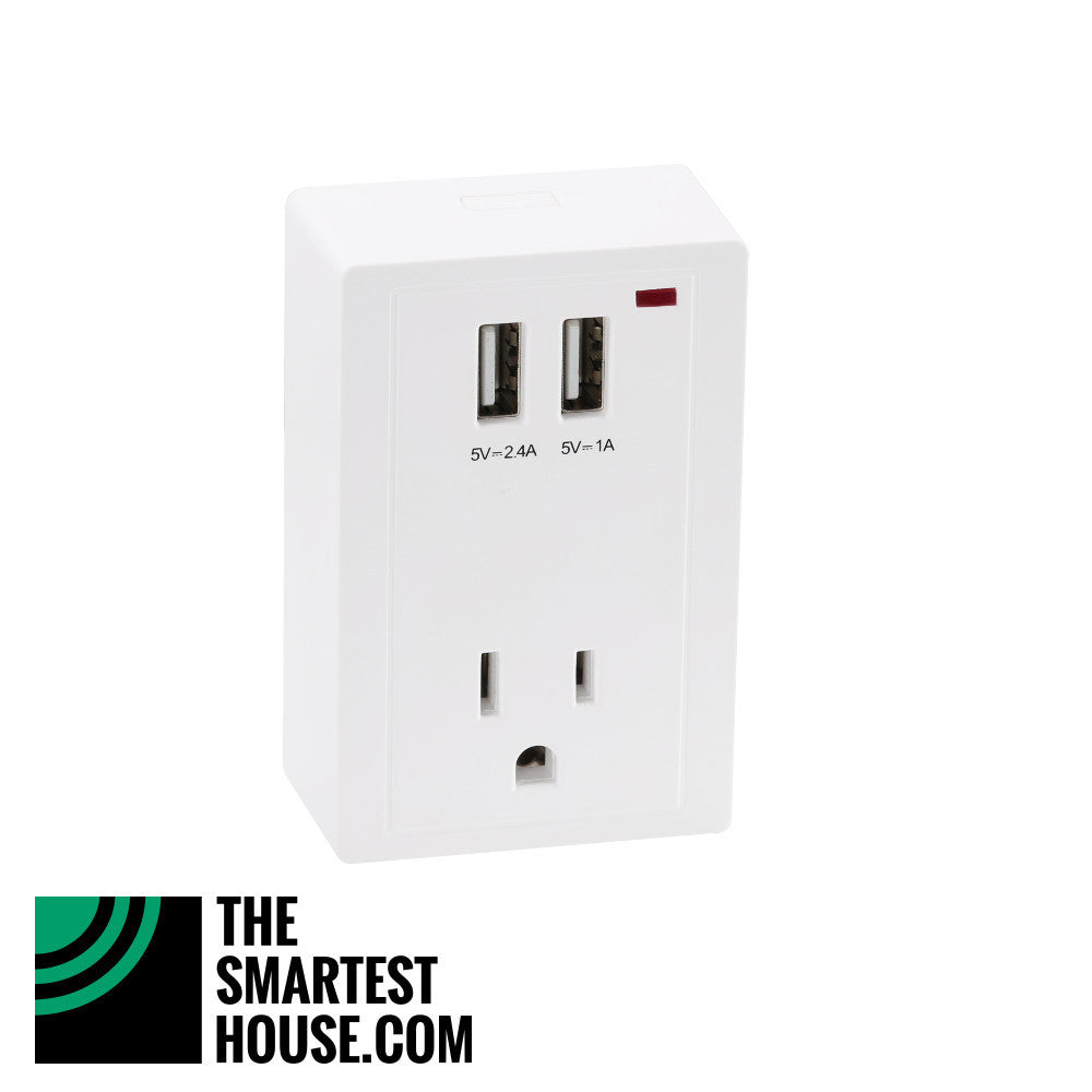 Hank Z-Wave Plus Smart Plug HKZW-SO01 side view