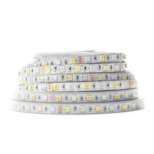 12 V DC Indoor RGBW LED Strip, Warm White, 16 feet thumbnail