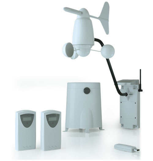 Qubino Z-Wave Plus Weather Station ZMNHZD3 components
