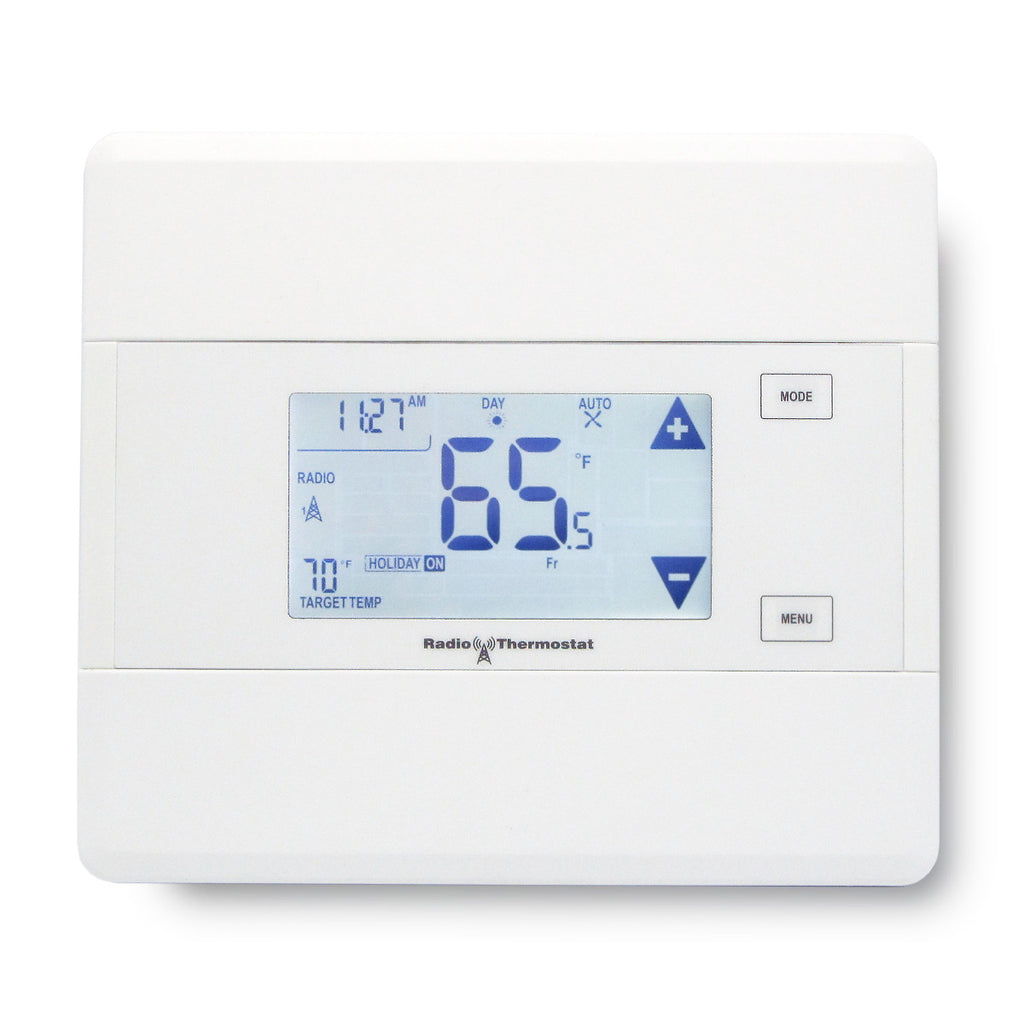 Radio Thermostat Z-Wave Communicating Touch Screen Thermostat CT101 Screen View