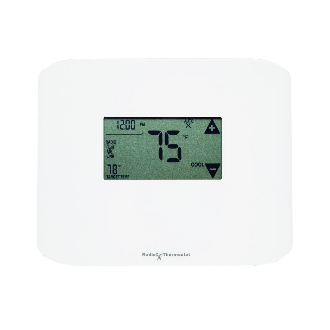 radio thermostat z wave plus communicating touchscreen thermostat ct10 the smartest house. Black Bedroom Furniture Sets. Home Design Ideas