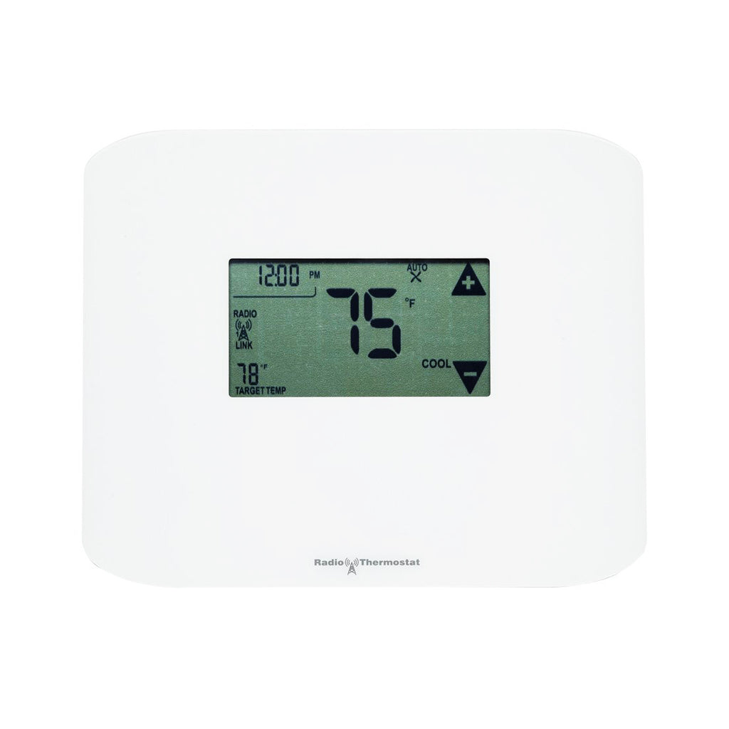 Radio Thermostat Z-Wave Plus Communicating Touchscreen Thermostat CT100 PLUS Front View