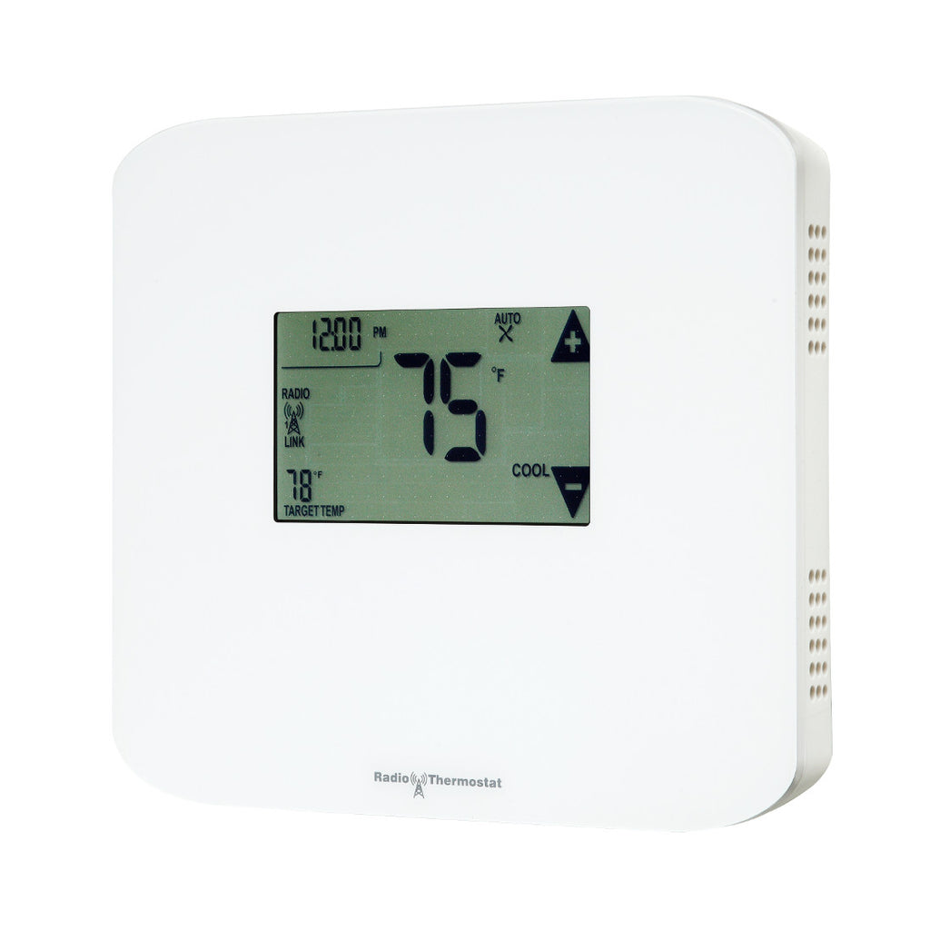 Radio Thermostat Z-Wave Plus Communicating Touchscreen Thermostat CT100 PLUS Side View