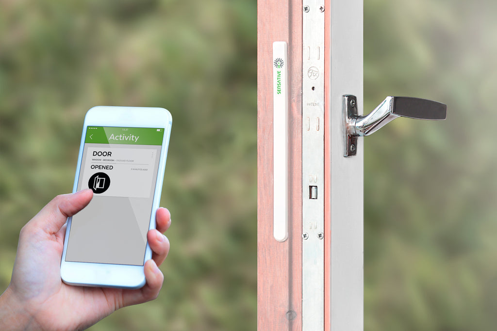 Sensative Strips Z-wave Plus Invisible Door Window Sensor in app view