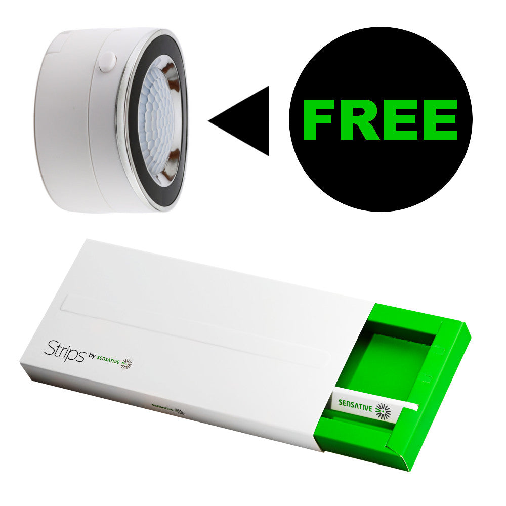 Strips Door / Window Sensor with Free Z-Wave Plus Motion Sensor Best Deal