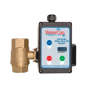 WaterCop Z-Wave Actuator Motor and Shut-Off Valve Leak Prevention Value Kit