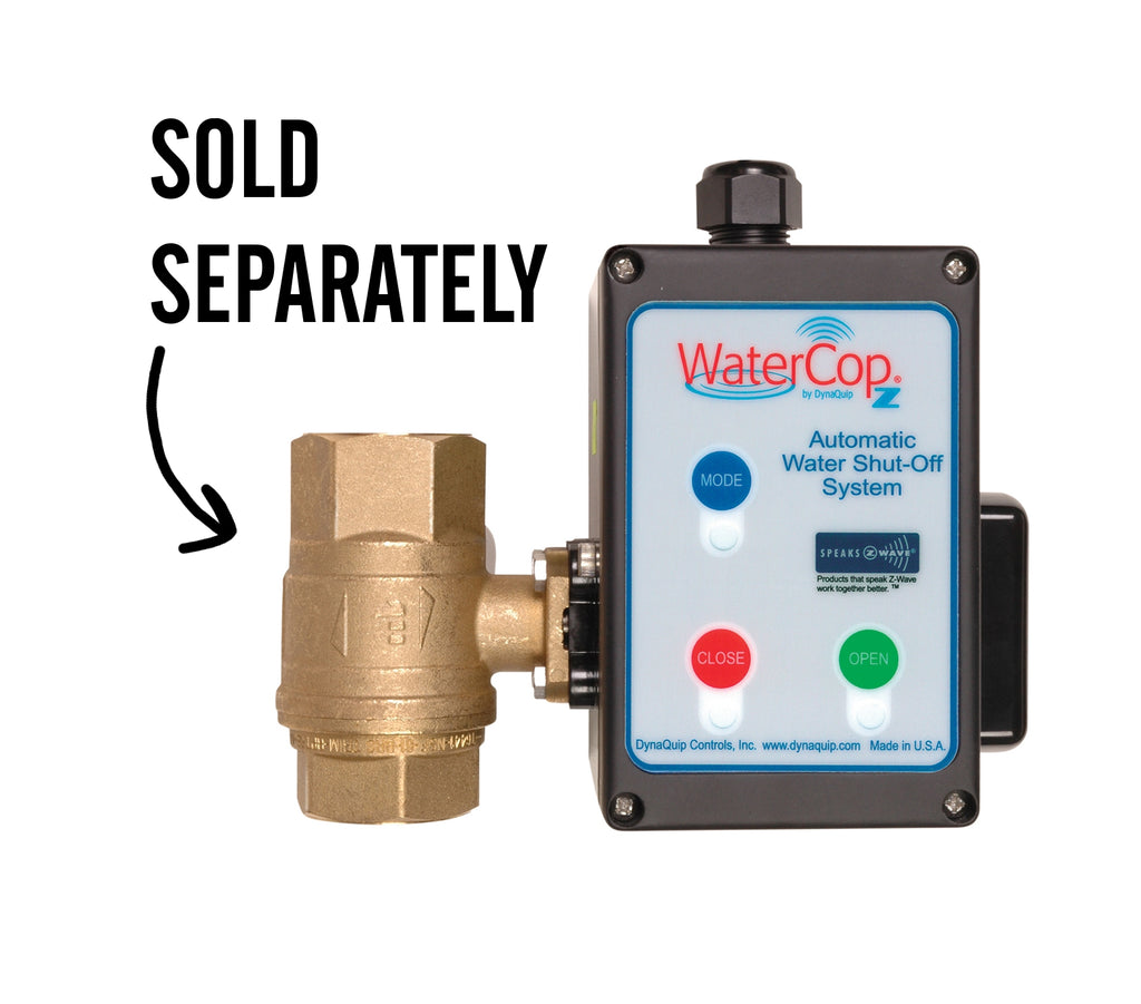 WaterCop Z-Wave Electric Actuator Motor for Leak Prevention with Valve, sold separately