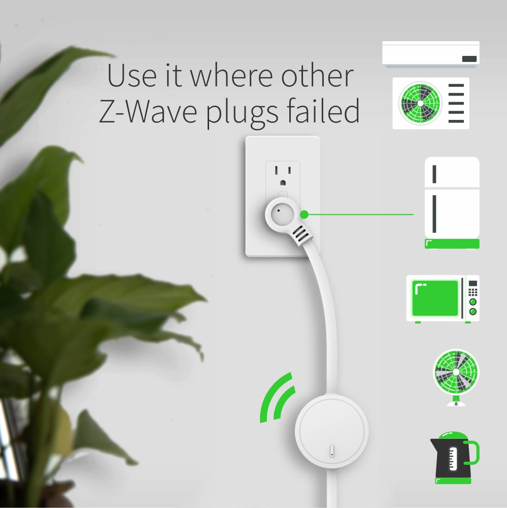 Zooz Z-Wave Plus Power Switch ZEN15 work with heavy duty appliances