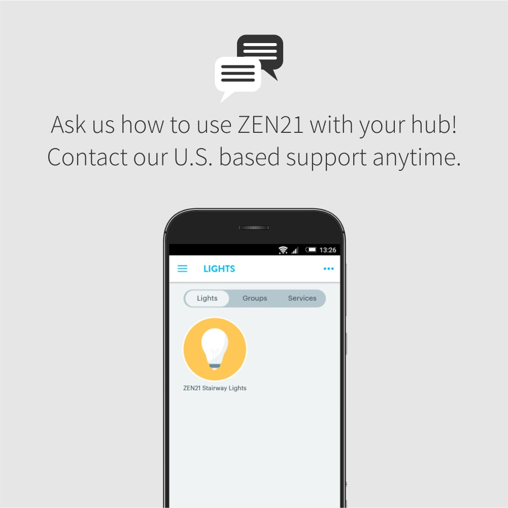 Zooz Z-Wave Plus On / Off Light Switch ZEN21 VER 4.0 works with Wink, SmartThings, and more