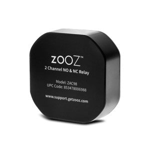 Zooz 2 Channel NO & NC Accessory Relay ZAC98 (12-24 V Input) Thumbnail