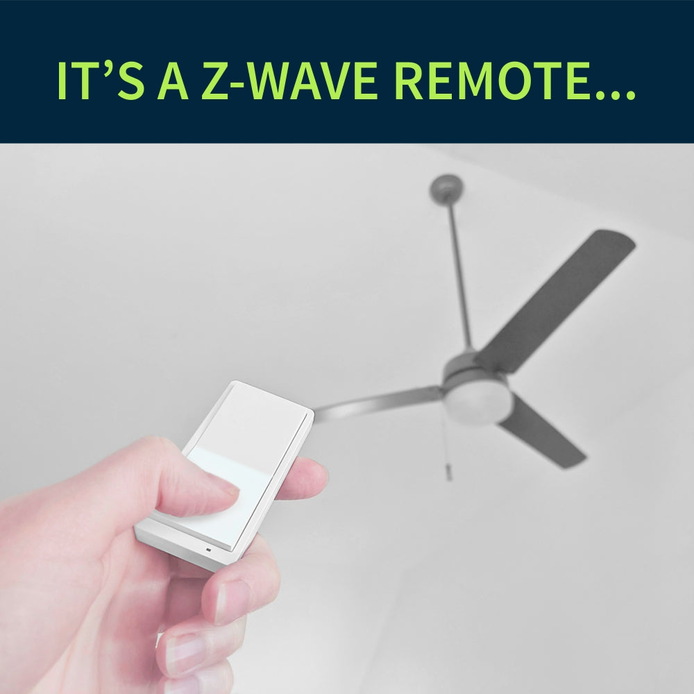 Zooz Z-Wave Plus 700 Series Remote Switch ZEN34 (Battery Powered) Works as a remote control