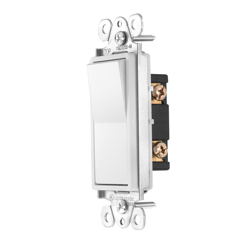 Zooz Momentary In-Wall Switch ZAC99 for Z-Wave Dimmer Modules Side View