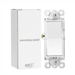 Zooz Momentary In-Wall Switch ZAC99 for Z-Wave Dimmer Modules Thumbnail