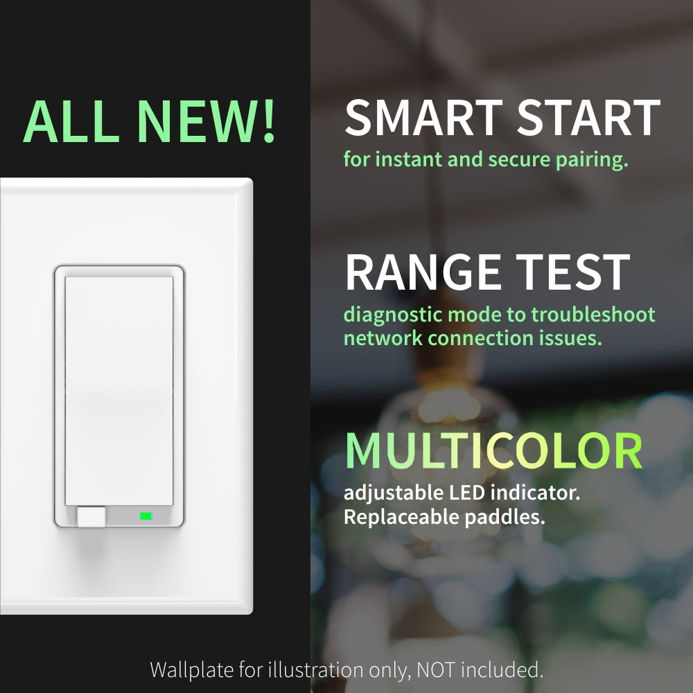 Zooz 700 Series Z-Wave Plus Dimmer ZEN72 New Software Features