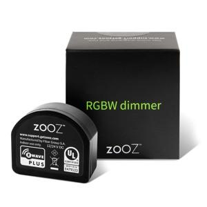 Zooz Z-Wave Plus S2 RGBW Dimmer ZEN31 for LED Strips Packaging View Thumbnail