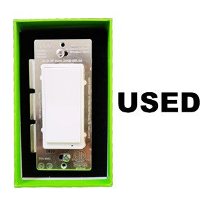 Zooz Z-Wave Plus S2 On / Off Wall Switch ZEN26 Used Final Sale Thumbnail