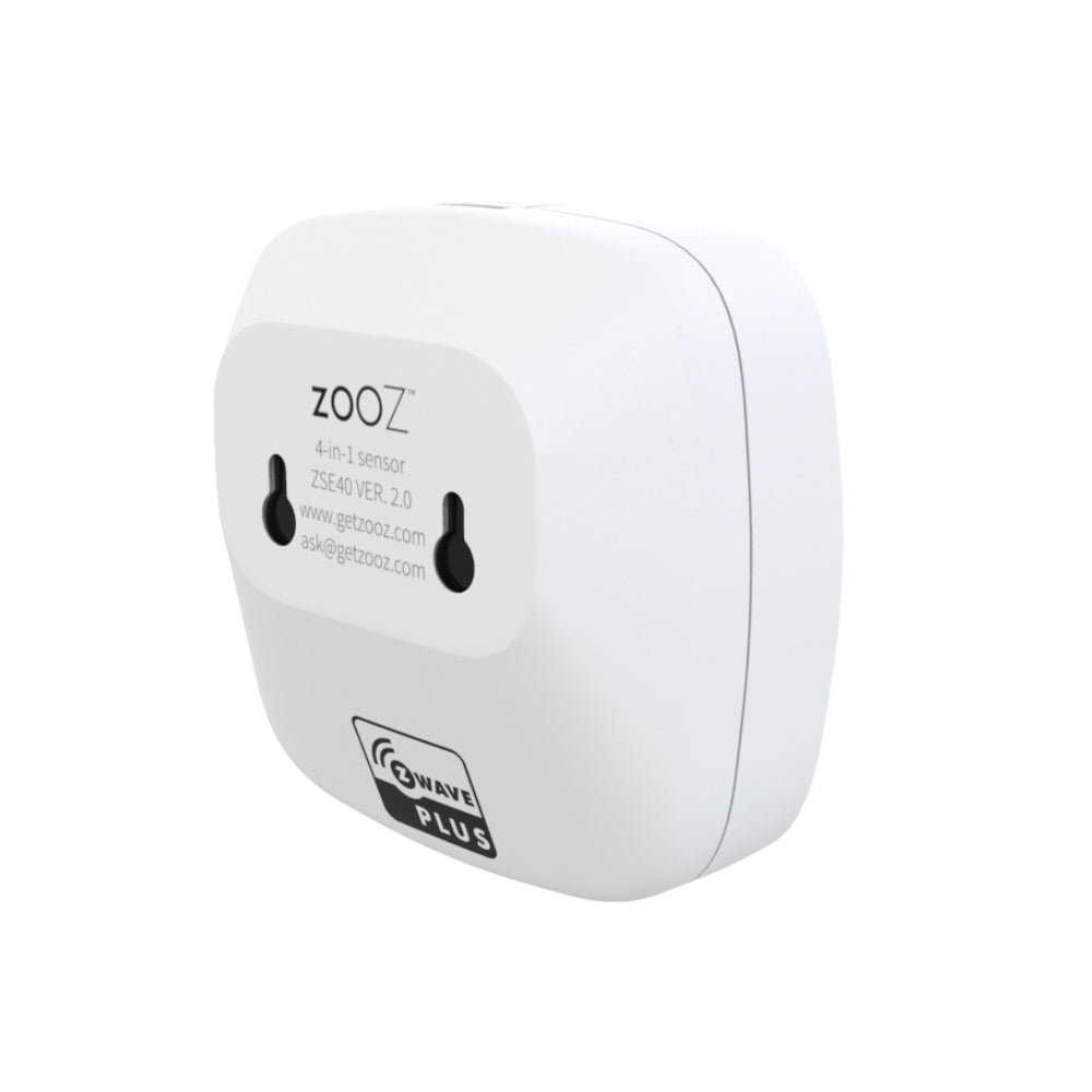 Zooz Z-Wave Plus 4-in-1 Sensor ZSE40 VER. 2.0