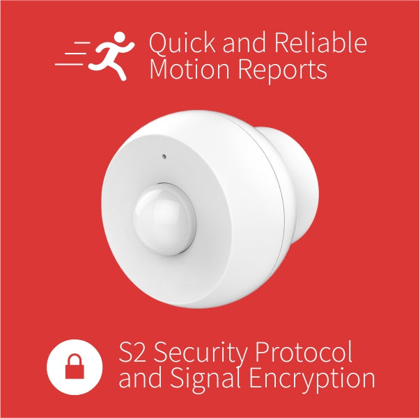 Zooz Z-Wave Plus Motion Sensor ZSE18 is Quick and Encrypted