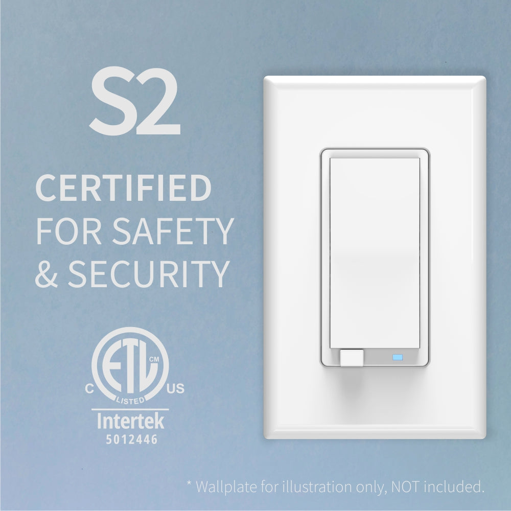 Zooz Z-Wave Plus S2 Dimmer Switch ZEN27 (White) with Simple Direct 3-Way & 4-Way is Z-Wave Plus and ETL certified