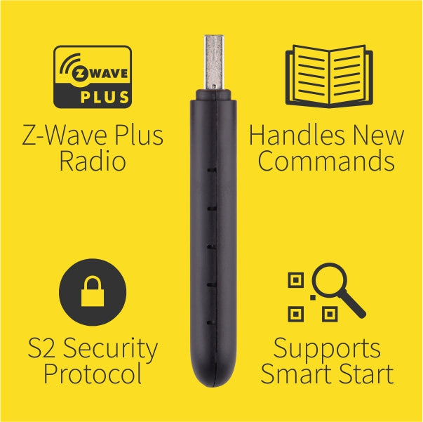 Zooz USB Z-Wave Plus S2 Stick ZST10 Features