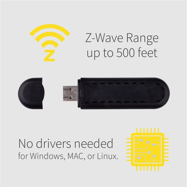 Zooz USB Z-Wave Plus S2 Stick ZST10 Extra Features