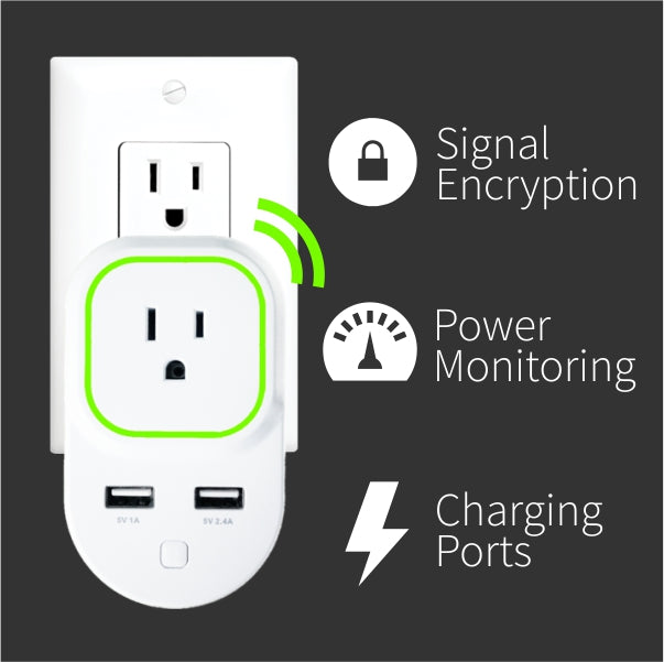 Zooz Z-Wave Plus Smart Plug ZEN06 Key Features