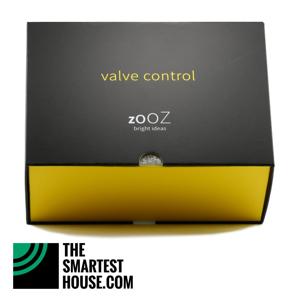 Zooz ZAC03 Z-Wave Valve Control Box Bottom Tilted