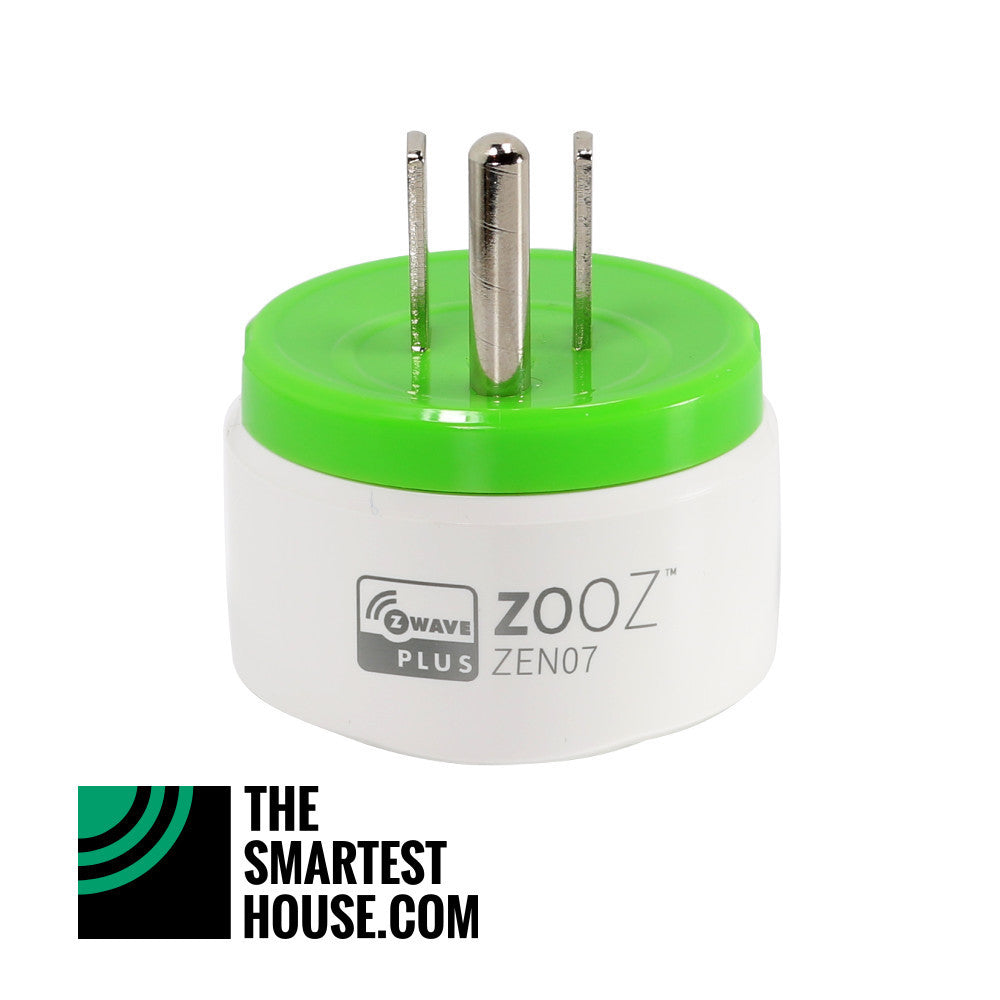 Zooz Z-Wave Plus Mini Plug ZEN07 side view