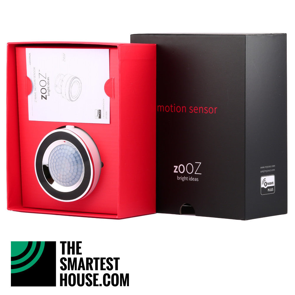 Zooz ZSE02 Z-Wave Motion Sensor Full Open Box