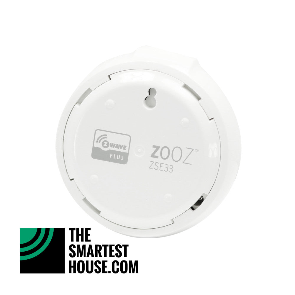 Zooz Z-Wave Plus Smart Chime with Alarm Siren ZSE33 Back View
