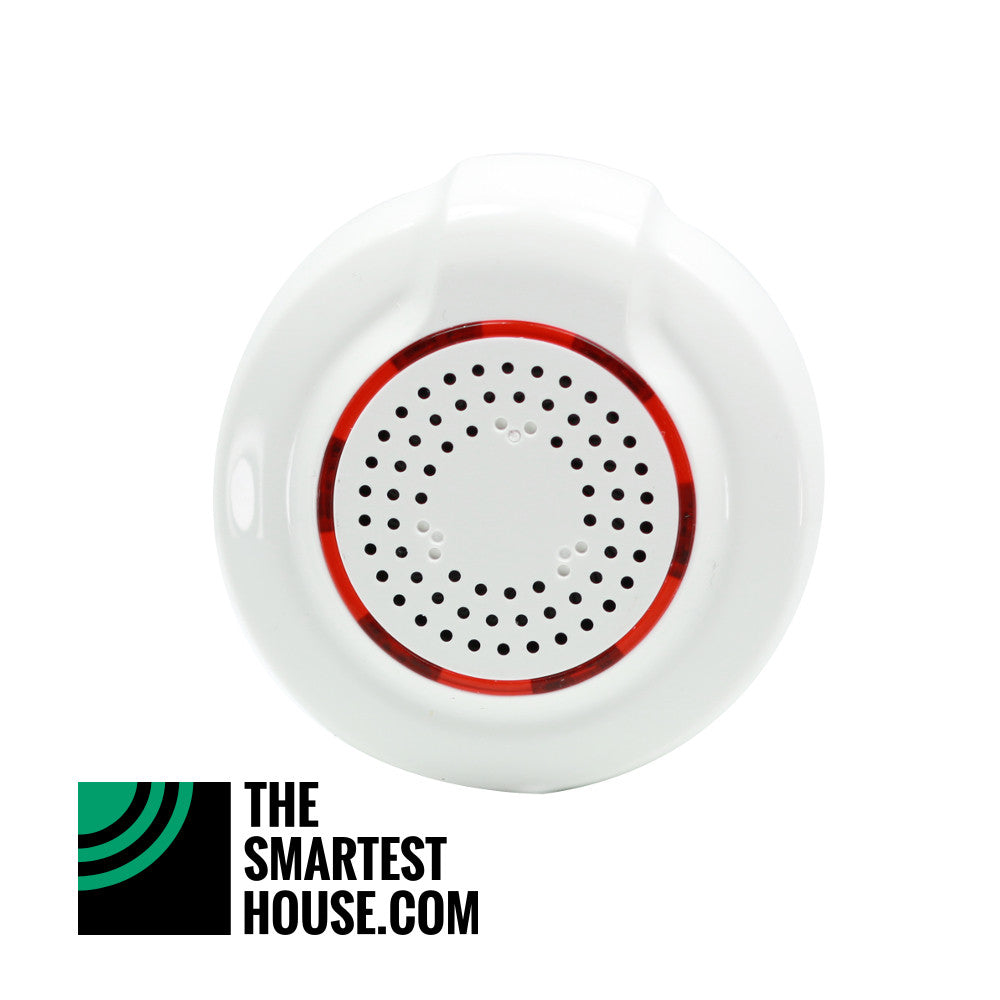 Zooz Z-Wave Plus Smart Chime with Alarm Siren ZSE33 Front View