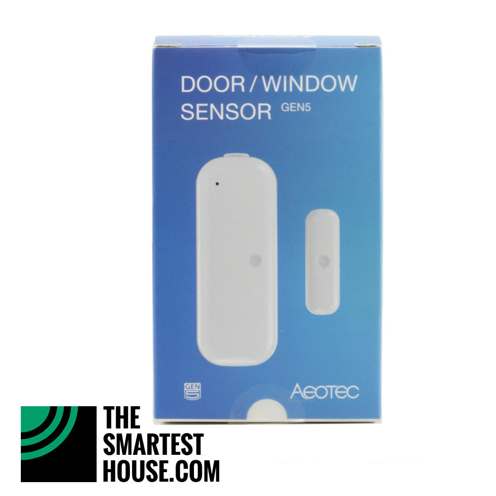 Aeotec by Aeon Labs Z-Wave Plus Door Window Sensor Gen5 ZW120 - 2 Pack packaging front