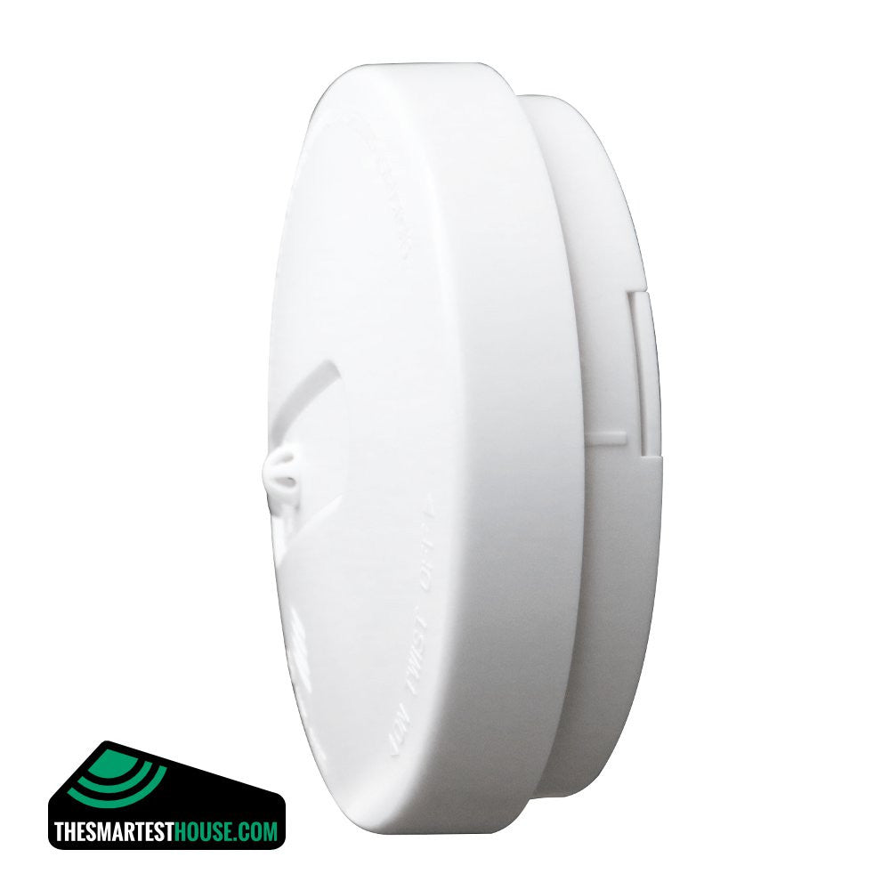 Z-Wave Smoke Detector ZWN-SD-W Side