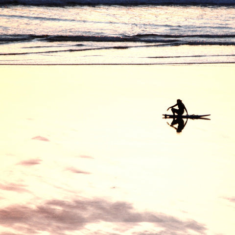 Lone Surfer