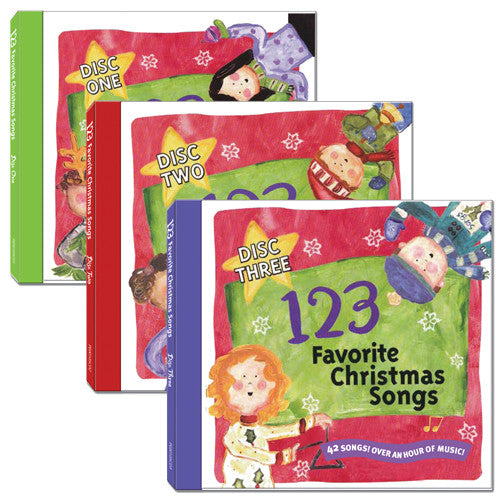 123 Favorite Christmas Songs (3 CDs)